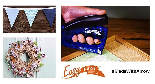 Did you know we created a staple gun specifically for decorators? Our EasyShots are perfect for bulletin boards, seasonal decorations and craft uses. Every EasyShot comes with a staple puller and 400 staples to get you started. And our Multi Stapler allows you to staple up to 25 sheets of paper, making it a perfect dual tool for teachers! Click the link in our profile to take a closer look!