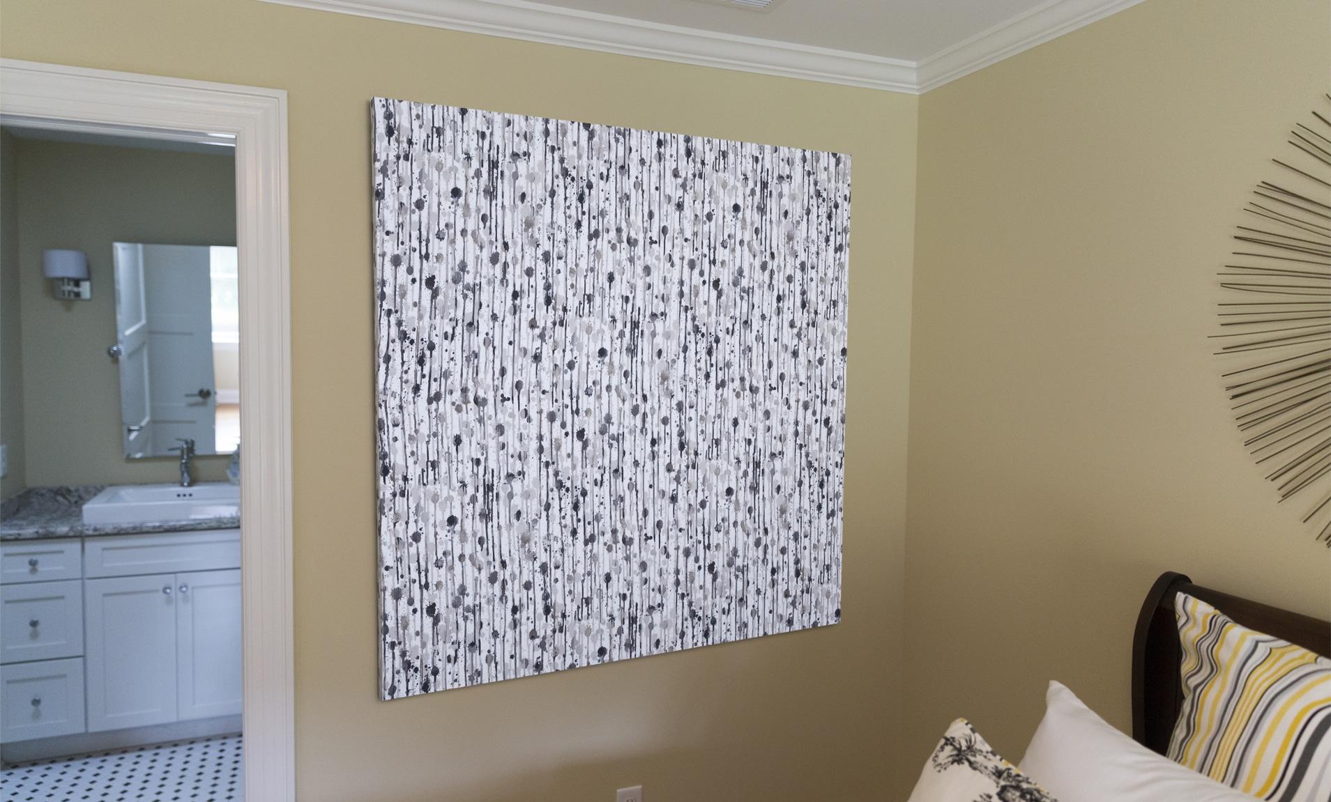 Decorative Fabric Panel