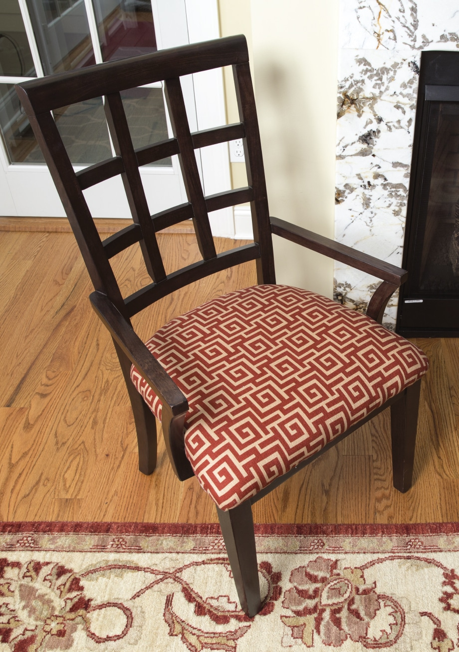 Weu0027d love to see how your DIY Chair Upholstery project turned out! Share your results with us on Facebook Instagram or Twitter by tagging #MadeWithArrow. & Upholster A Chair - Upholstering Staple Guns | Arrow Fastener