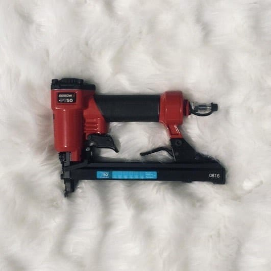 """""""I'm going to post a picture like a beauty blogger but with a twist. Instead of posting a new eyeshadow palette I just got in the in mail, I'm going to post a picture of the pneumatic staple gun I've been dying to arrive all week… on a fur background.  I can't wait to use it later this evening."""" Via @chicantiquing   Ready for a PT50 of your very own? Link in bio."""