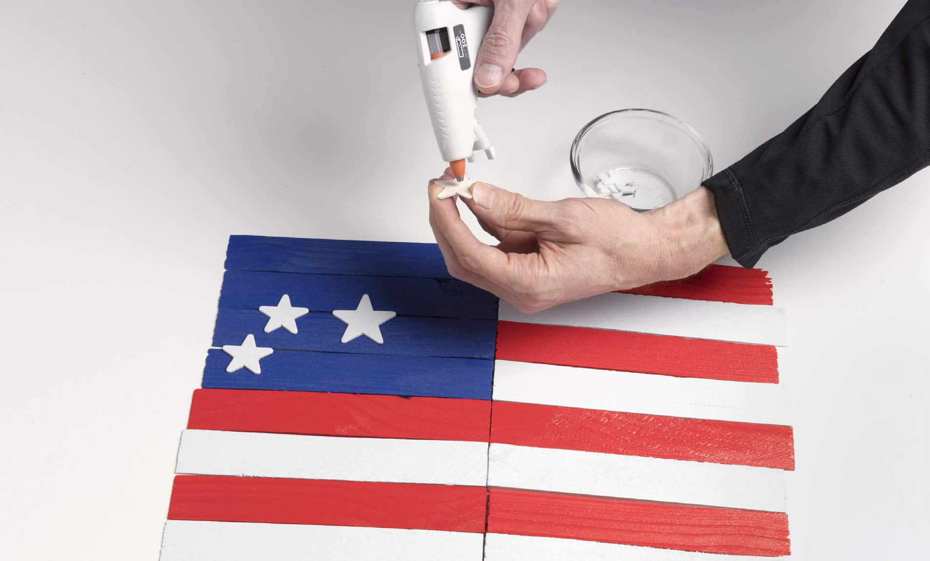patriotic flag project