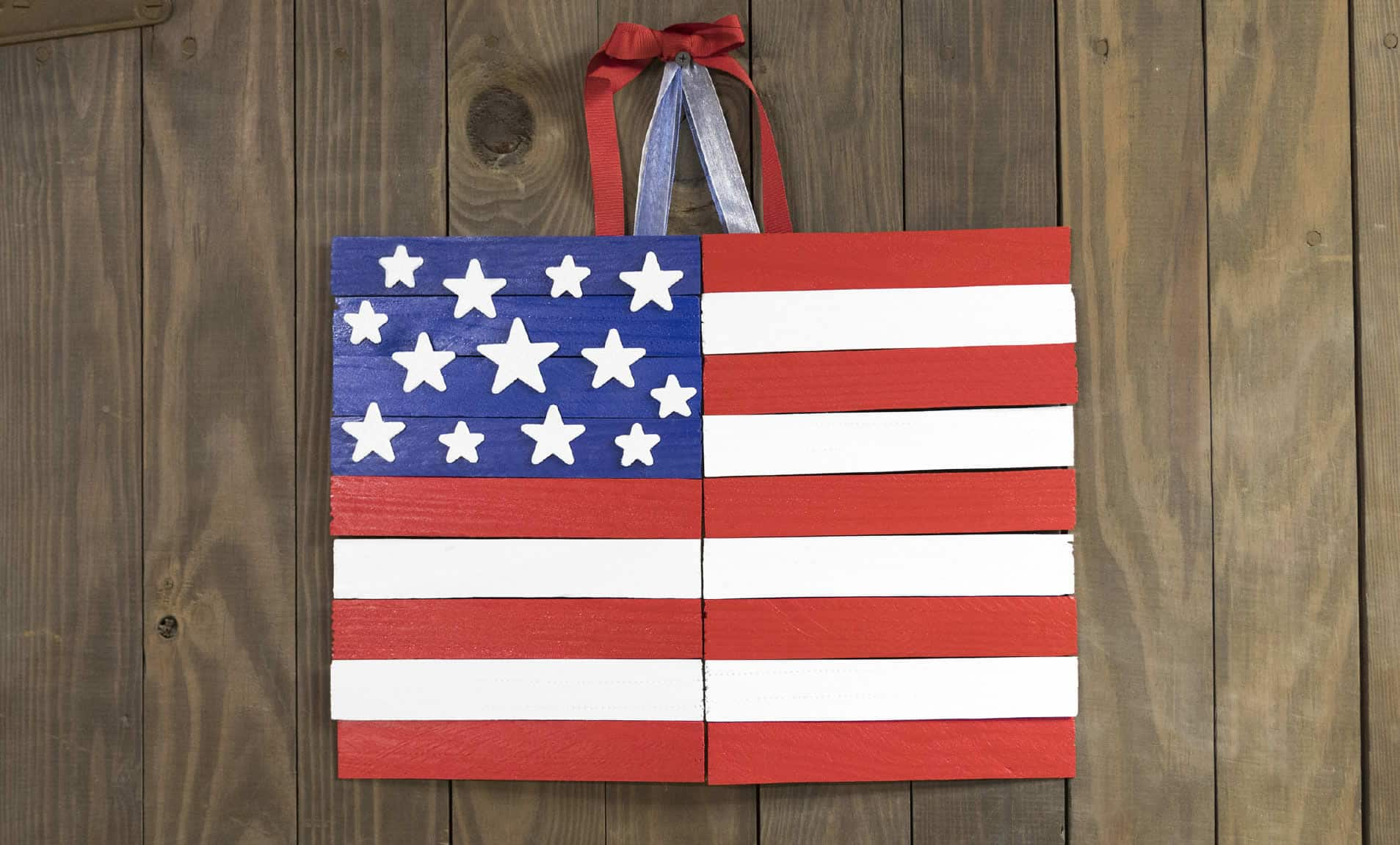 homemade american flag
