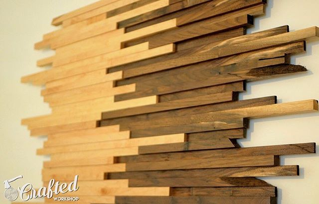 Put your scrap wood to good use with this project from @craftedworkshop! (Link in bio.)