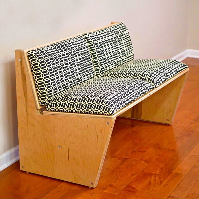 Why buy a couch when you can build it yourself? Full tutorial from @CraftedWorkshop in bio!