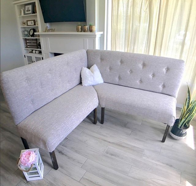 It's AMAZING what you can accomplish with inspiration and Arrow's T50DCD Cordless Electric Staple Gun! Thanks to @buildandcreatehome for sharing this gorgeous couch she upholstered with our stapler!