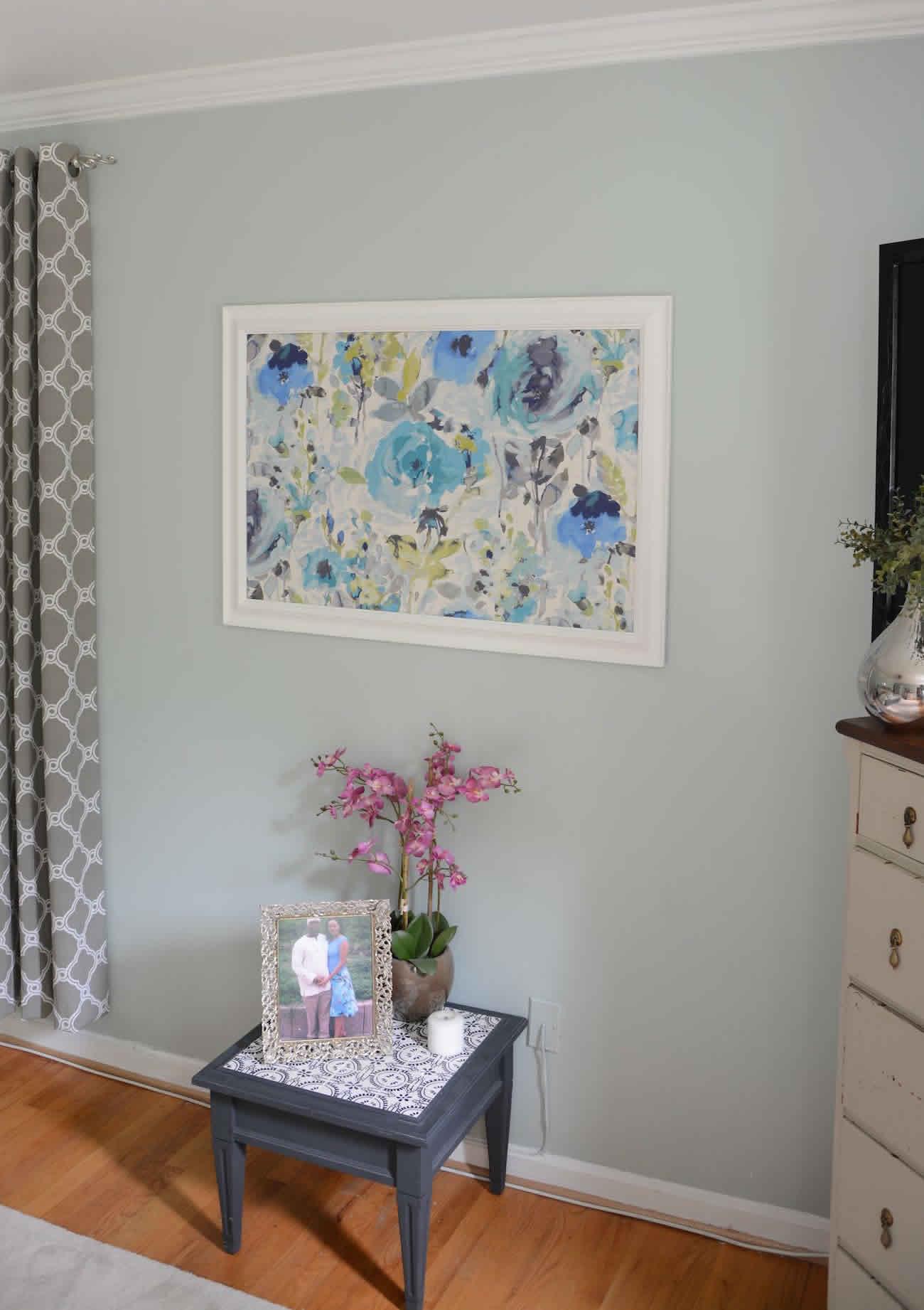 Framed Prints Above Bed