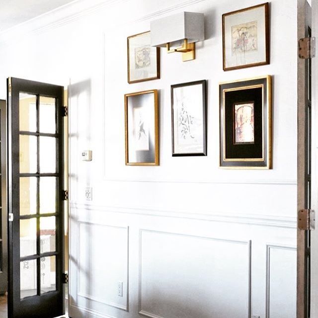 Wainscoting for the win! Try this elegant and budget-friendly project from @CentsationalStyle that she took on with Arrow's electric nailer. Link in bio! ️ . . . . . . .