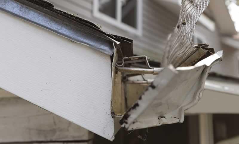 DIY Project - Replace Damaged Rain Gutter End Cap | Arrow Fastener