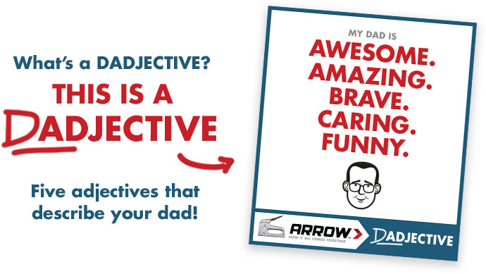 What's a Dadjective?